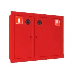 Шкаф пожарный ШПК-315 встраиваемый закрытый кр/бел