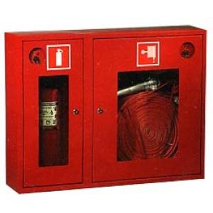 Шкаф пожарный ШПК-315 навесной открытый кр/бел
