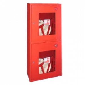 Шкаф пожарный ШПК-320 навесной открытый кр/бел