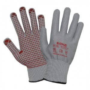 Перчатки БОНД трикотажные с покрытием ПВХ ГЕЛЬ