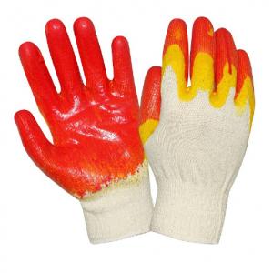 Перчатки трикотажные с 2-м латексным покрытием