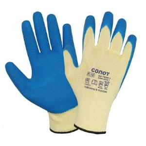 Перчатки рабочие СОПОТ с латексным покрытием