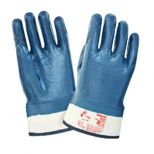 Перчатки нитриловые WG крага, покрытие полное