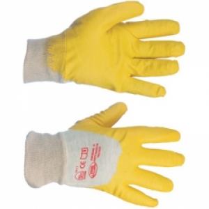 Перчатки нитриловые  (желтые) один облив