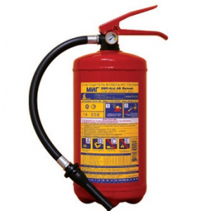 Огнетушитель ОВП- 4(з) МИГ с фторосодержащим зарядом (летний)
