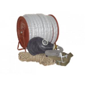 Противогаз ПШ-20 (шланг ПВХ, метал. барабан, маска шмп)