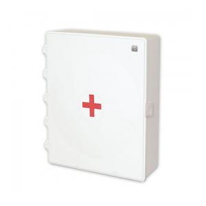Аптечка для оказания первой медицинской помощи работникам (приказ №169н от 05.03.2011г.) пластиковый шкаф