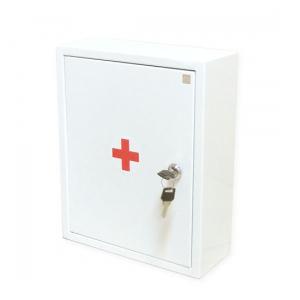 Аптечка первой помощи работникам (приказ №169н) металлический шкаф маленький