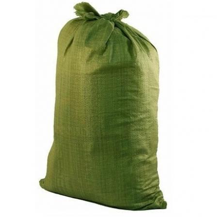 Мешок полипропиленовый зеленый 55х95 см