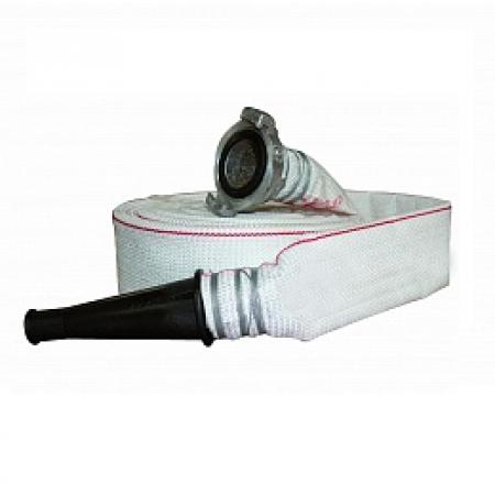 Рукав напорный комплектный ПРЕСТИЖ 50 с головкой и стволом (пластик)