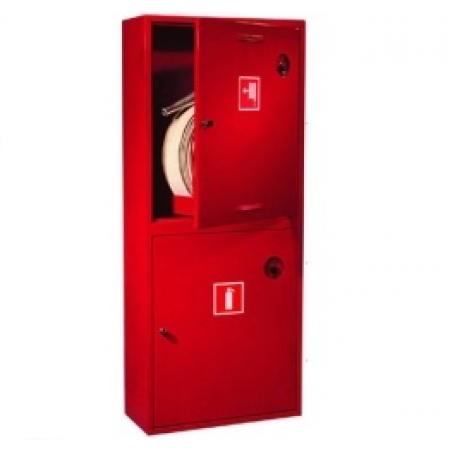 Шкаф пожарный ШПК-320 навесной закрытый кр/бел