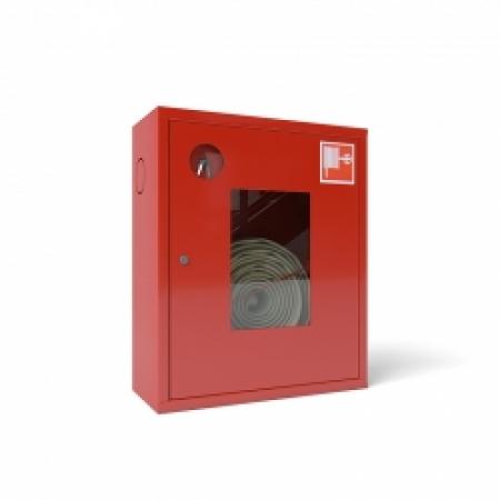 Шкаф пожарный ШПК-310 навесной открытый кр/бел
