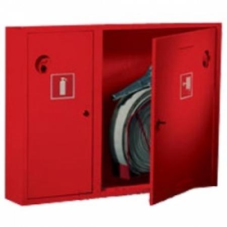 Шкаф пожарный ШПК-315 навесной закрытый кр/бел