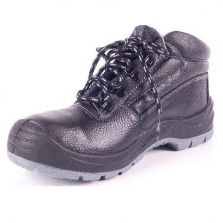 Ботинки рабочие с металлическим носком утепленные (иск. мех)