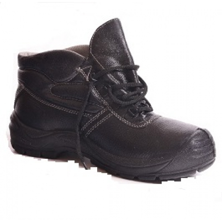 Ботинки рабочие кожаные с искусственным мехом