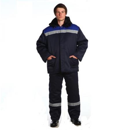Куртка Бригадир с капюшоном, СОП, утеплителем