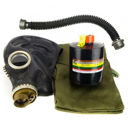 Противогаз ППФ марки А2В2Е2К2SX(CO)NOHgP3D с маской ШМП