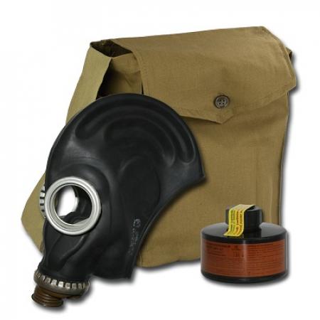 Противогаз фильтрующий ППФ Бриз марка А2, с маской ШМП