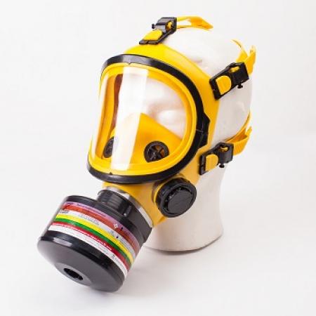 Противогаз ППФ марки В1Е1К2SX(CO)NOHgP3D с панорамной маской ППМ