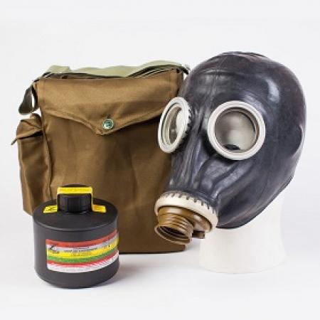Противогаз промышленный ППФ марка В1 с маской ШМП