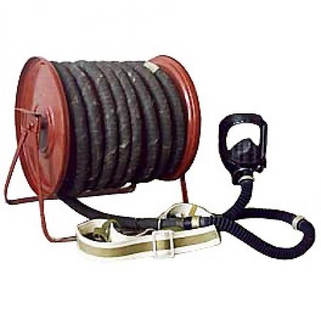 Противогаз ПШ-1Б  комплектация - шланг резино-тканевый -10 м, маска ППМ - 1 шт.