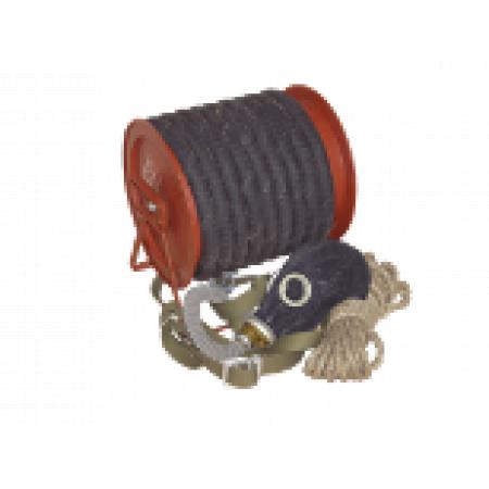 Противогаз ПШ-1Б (шланг рез.-тк. армированный, метал. барабан, маска ШМ)