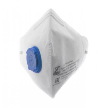Респиратор медицинский Бриз-1106М с клапаном выдоха FFP2 (продажа от 20 шт. организациям или ИП)
