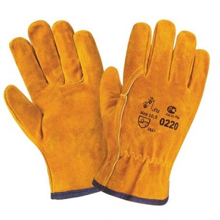 Перчатки спилковые типа Драйвер