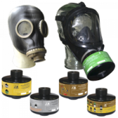 Противогаз промышленный ППФ м. А2Е1АХ с маской ШМП