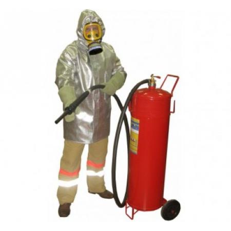 Плащ метализированный пожарного-добровольца (КЗЭПД) «Шанс»-Д